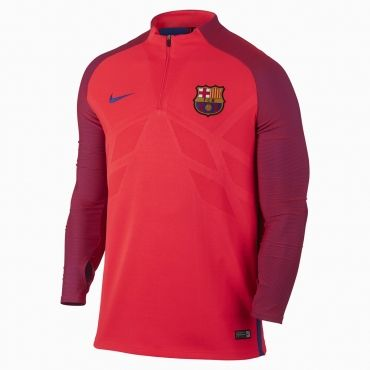 Nike FC Barcelona Strike Drill Top Training Jersey  17a2ec57215