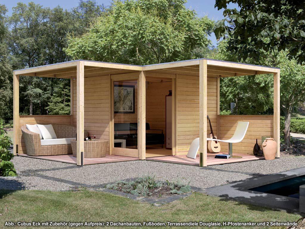 gartenhaus modernes design. Black Bedroom Furniture Sets. Home Design Ideas