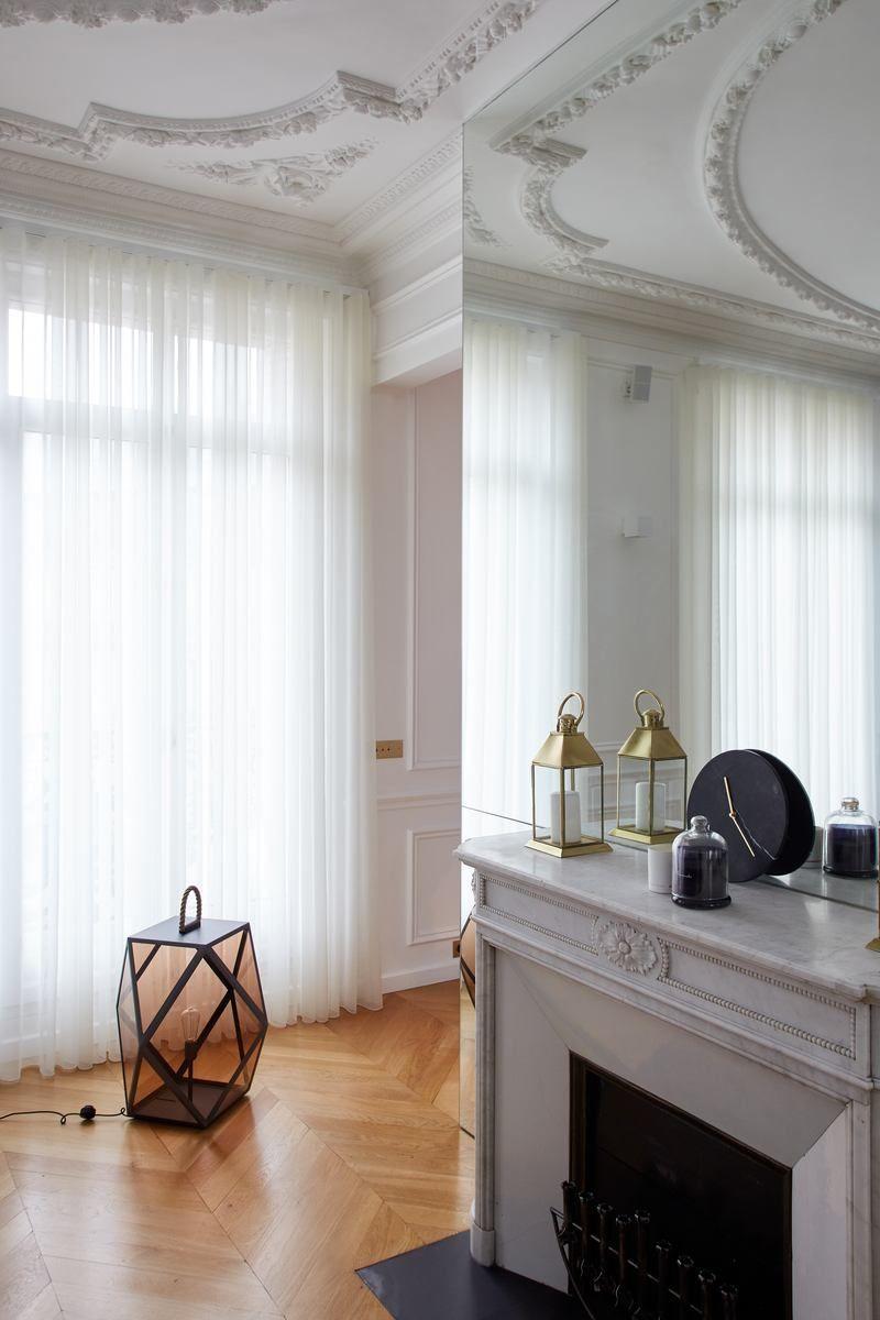 s jour appartement parisien de 115m2 gcg architectes pinterest. Black Bedroom Furniture Sets. Home Design Ideas