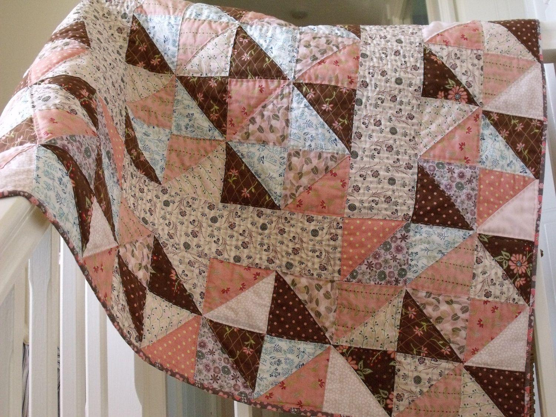 handmade baby quilt modern patchwork quilt crib quilt play mat ... : patchwork quilt handmade - Adamdwight.com