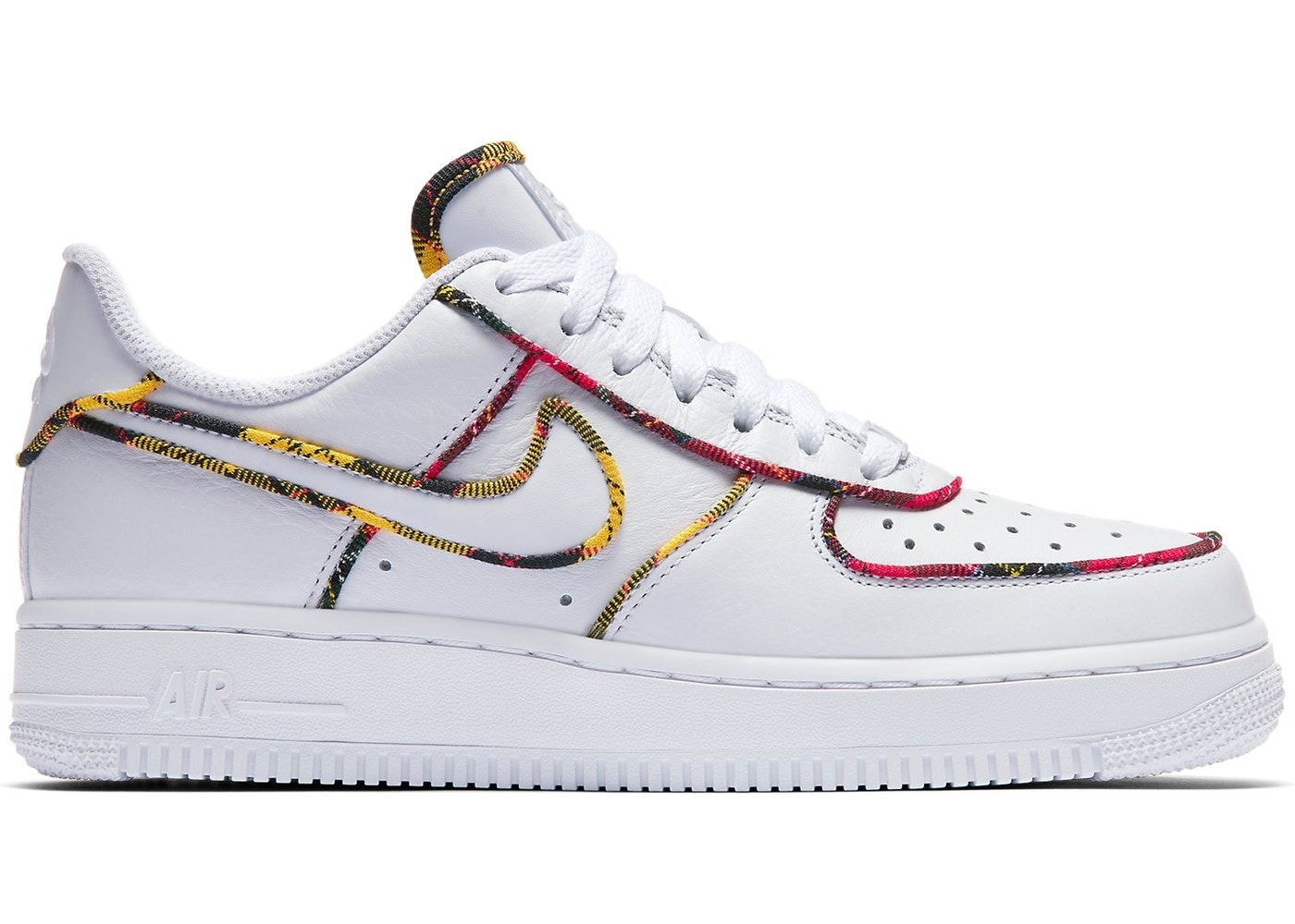 efdb91f5 Nike Force 1 Low Tartan White (W) in 2019 | Shoes | Air force 1 ...