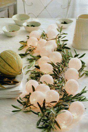 Olive Green Wedding Decor Branch Centerpiece