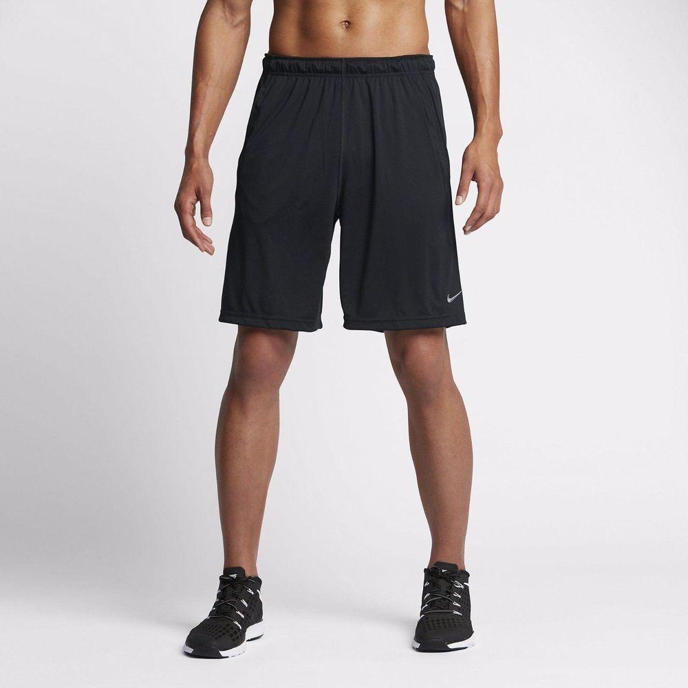 "Nike Men's Dry 9"" Training Shorts NEW 742517010 Black"