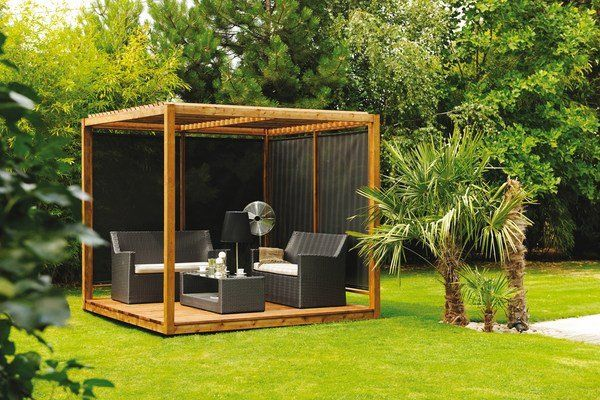 Modern Pergola Design Arrange A Beautiful Seating Area In The
