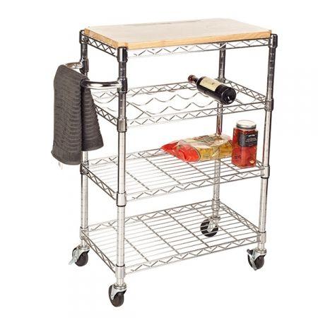 Howards Storage World Kitchen Trolley