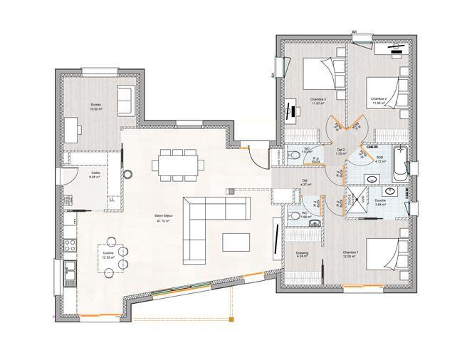 DELRIEU CONSTRUCTION - MAISON Du0027ARCHITECTE construction maison