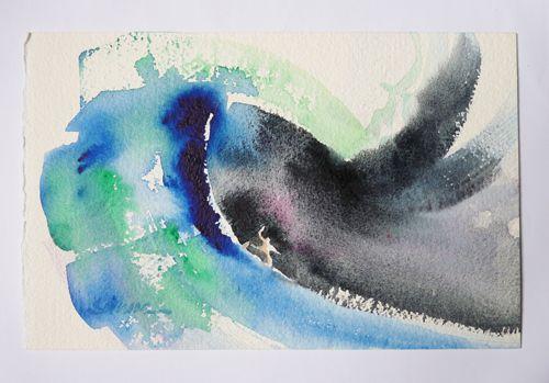 Aquarelle Originale John Severson Man Alive Original Watercolor