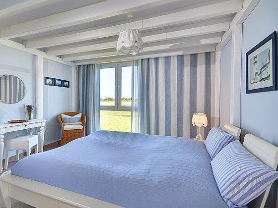 Blaues Schlafzimmer   Um Den Femininen Look Von Tiffany Blaue, Schlafzimmer