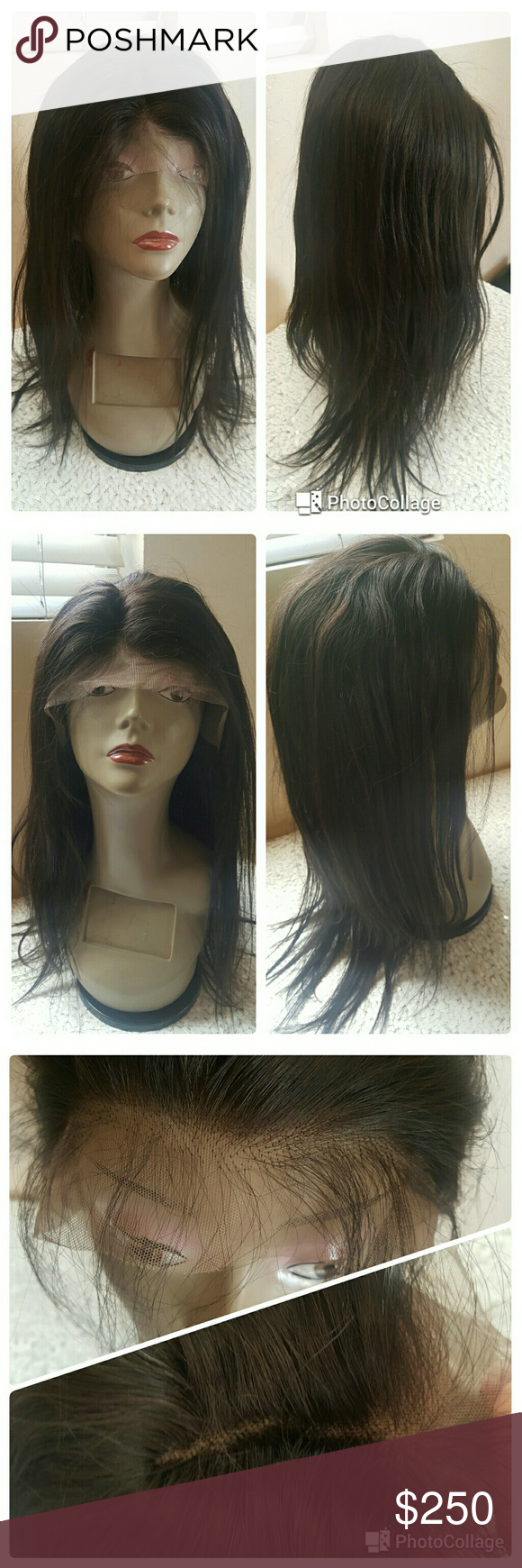 Sale european remy human hair lace front wig priced at on