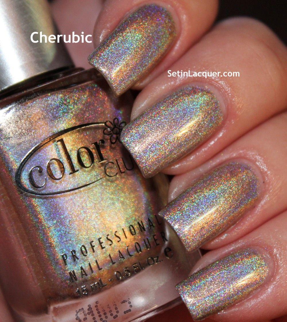 Color Club Halo Hues - Cherubic   Color Club   Pinterest