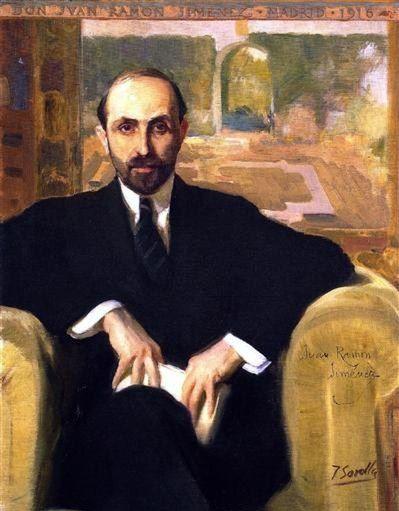 The Poet Juan Ramon Jiménez by Joaquin Sorolla,...