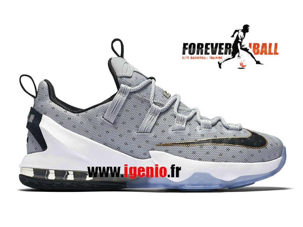 Nike LeBron 13 Low Chaussures de BasketBall Pas Cher Homme Cool