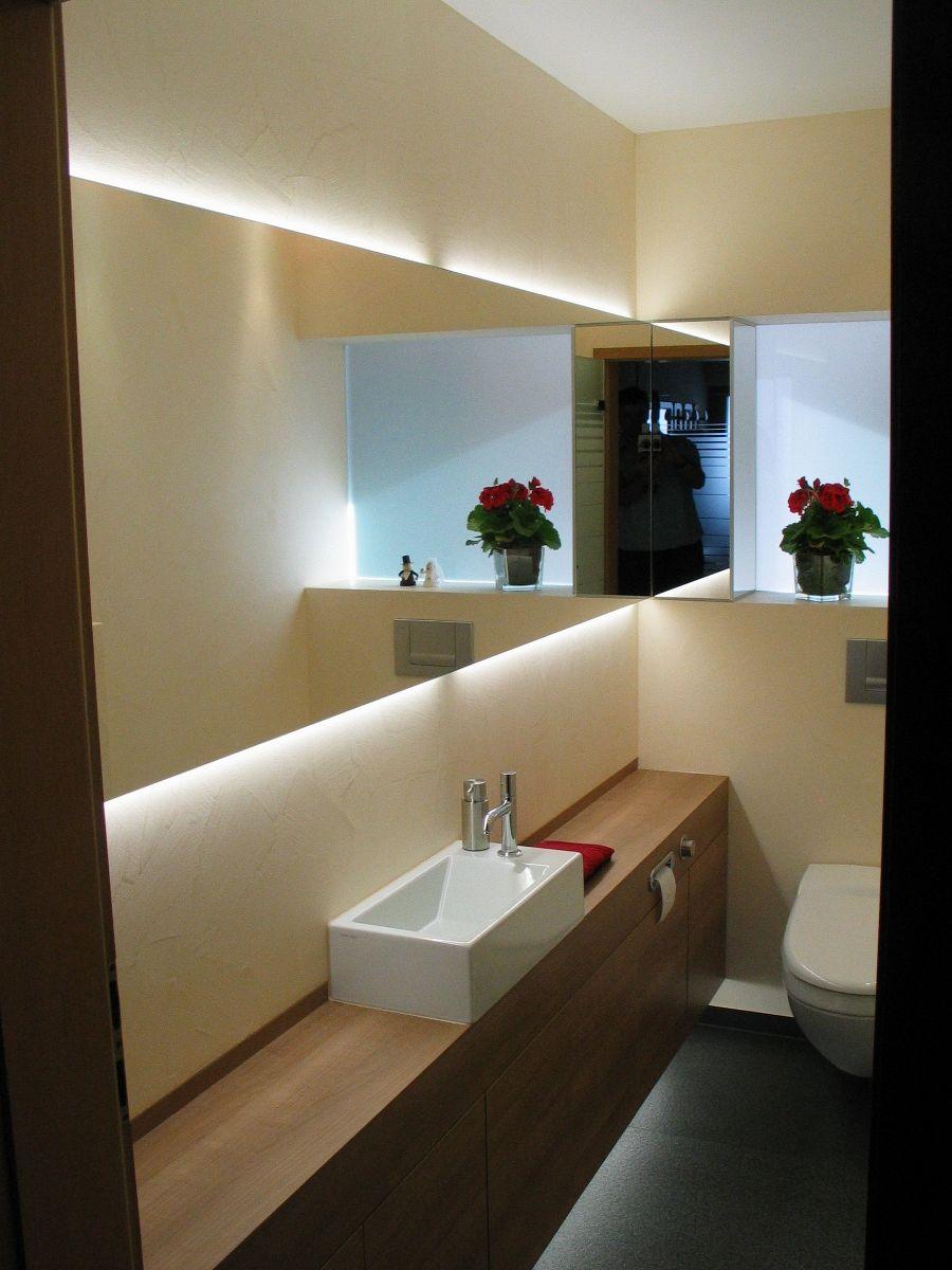 Viel Spiegel fr Raumgre  Bathroom  Gste wc