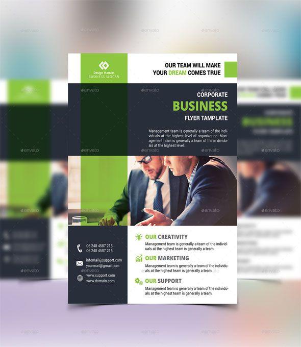 Free photo realistic corporate business flyer templates flashek Choice Image