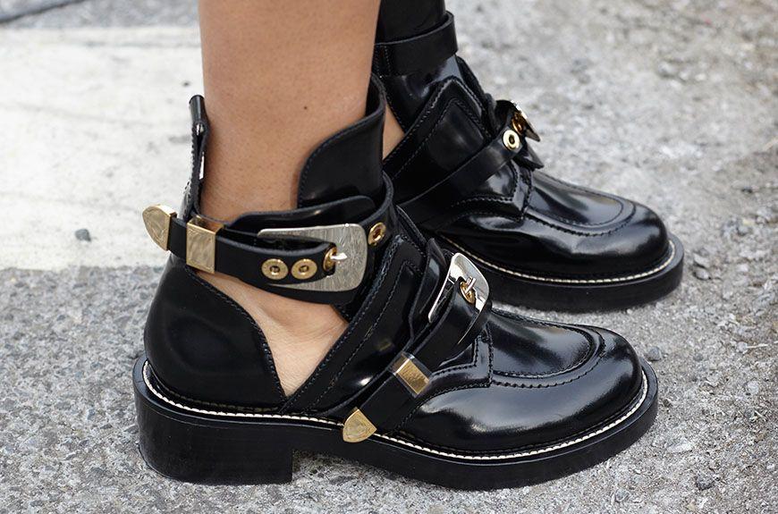 Shoe of the Week (NYFW Edition): Balenciaga Ceinture Boot | Womens ...