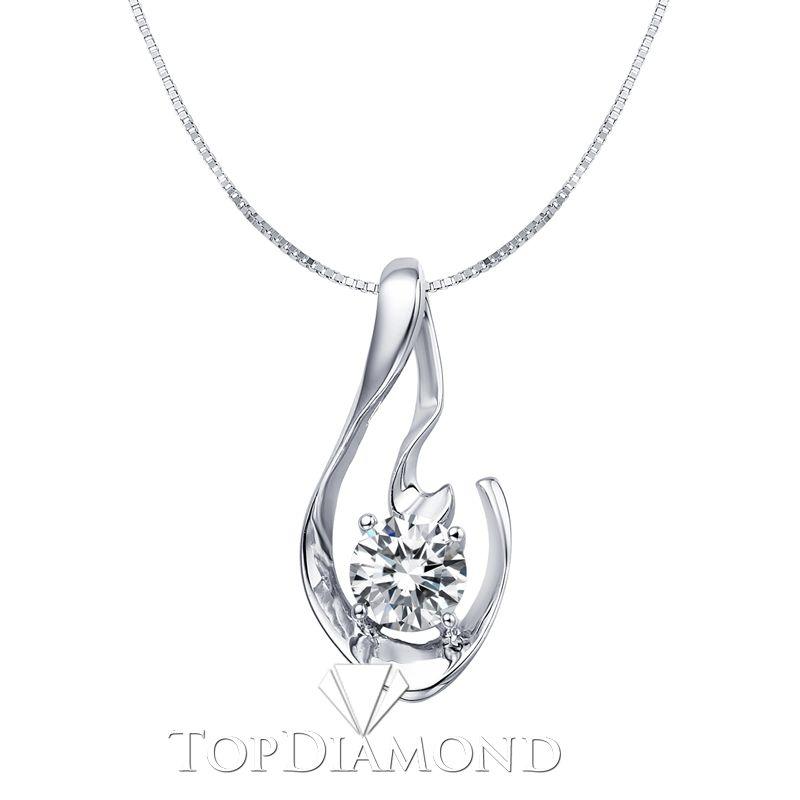 P1620 18k white gold diamond pendant setting p1620 diamond 18k white gold diamond pendant setting p1620 diamond pendants necklaces pendants aloadofball Images