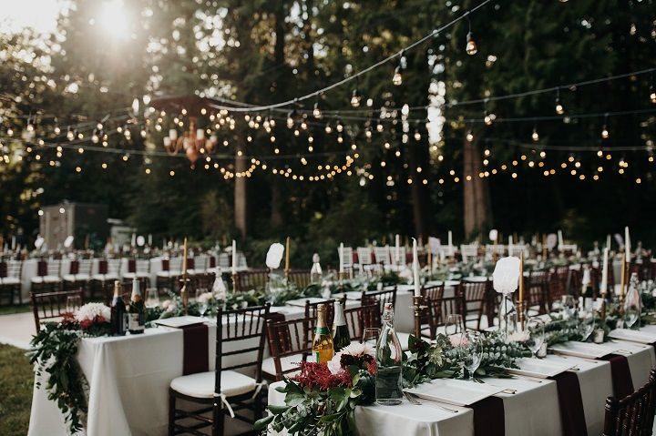 Woodland Wedding Inspiration Woodland Themed Wedding Reception