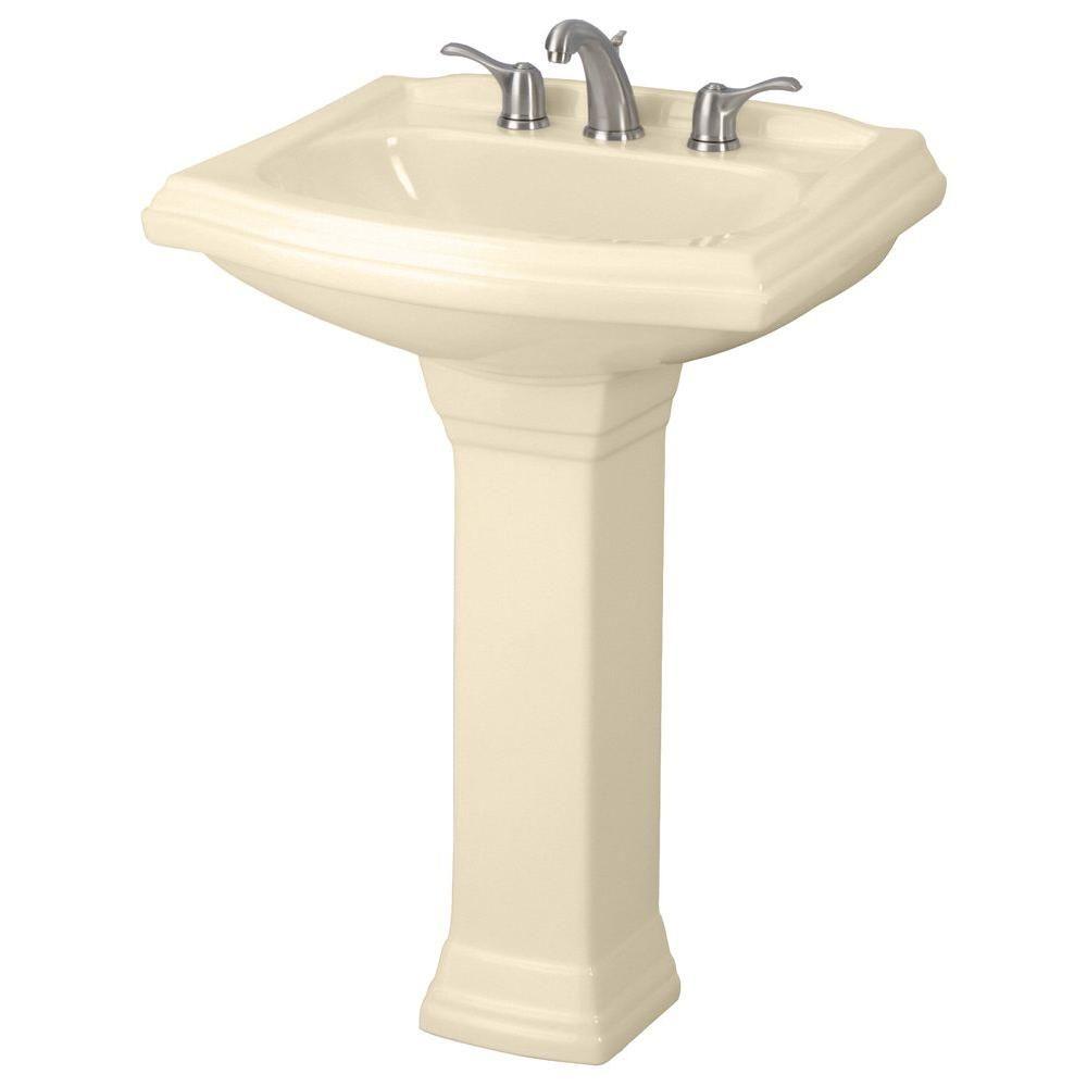 Gerber Allerton Pedestal Combo Bathroom Sink In Bone G002257925