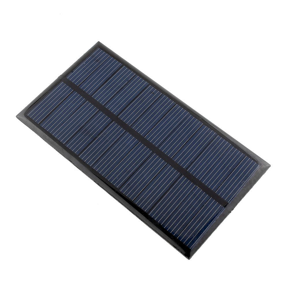 New 6v 1w Solar Power Panel Solar System Module Diy For Light Battery Cell Phone Chargers Solar Panels