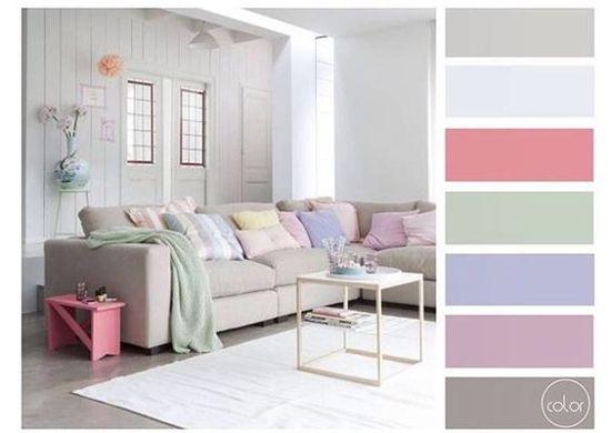 40 inspirasi warna cat interior rumah minimalis | Warna ...