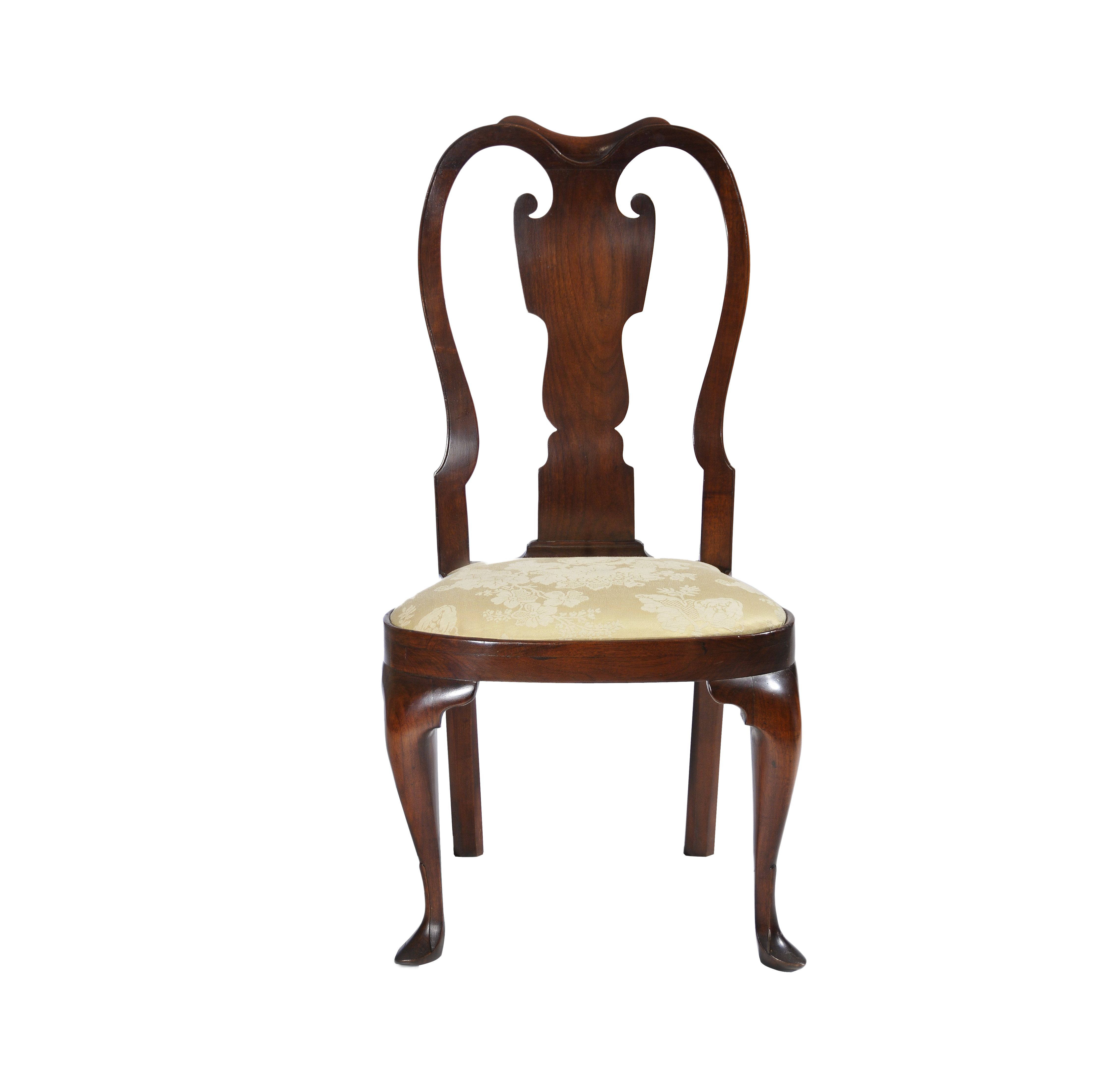 18th queen anne splat back furniture dining chairs