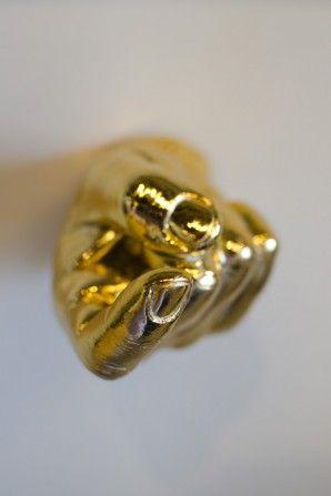 Gold Hand Hook