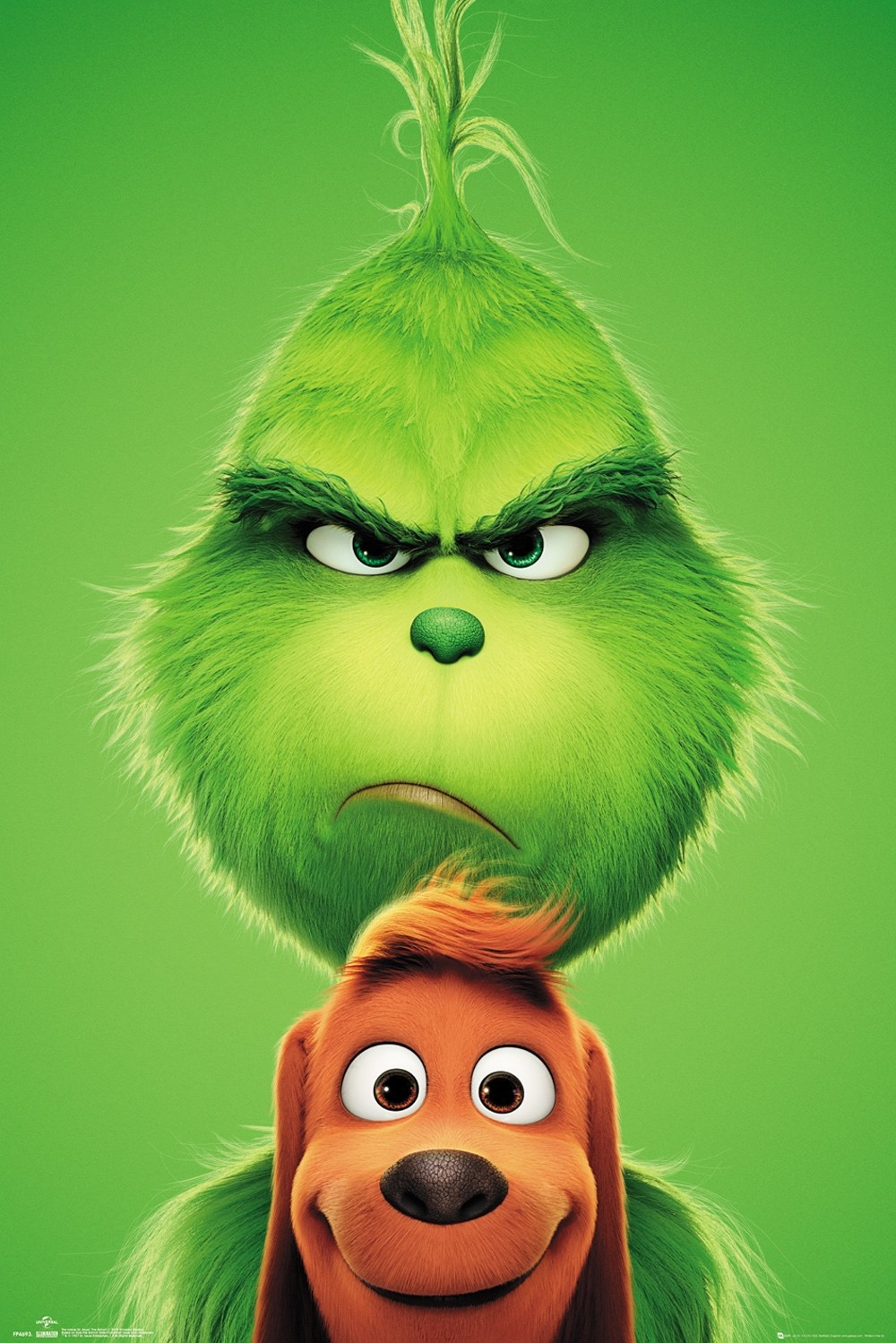 The Grinch Grinch And Max Maxi Poster Imagenes Del Grinch Fondo De Pantalla Animado Grinch