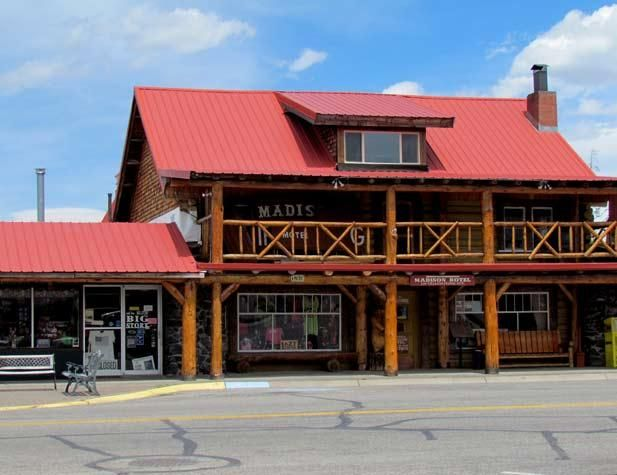 The Madison Hotel National Historical Register West Yellowstone We Stayed Here While In Montana