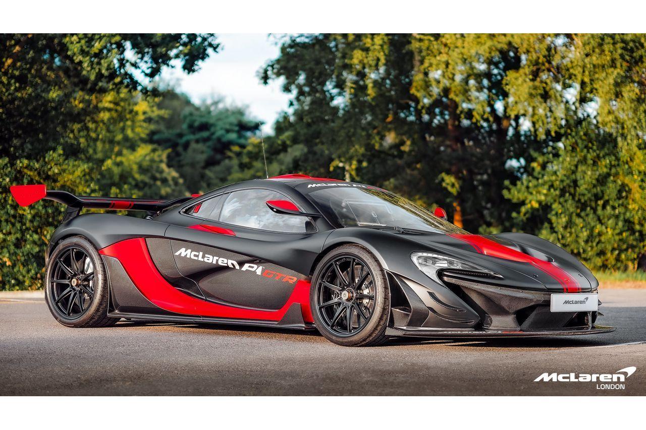 McLaren P1 GTR (VAT Qualifying) with Lanzante Road Legal