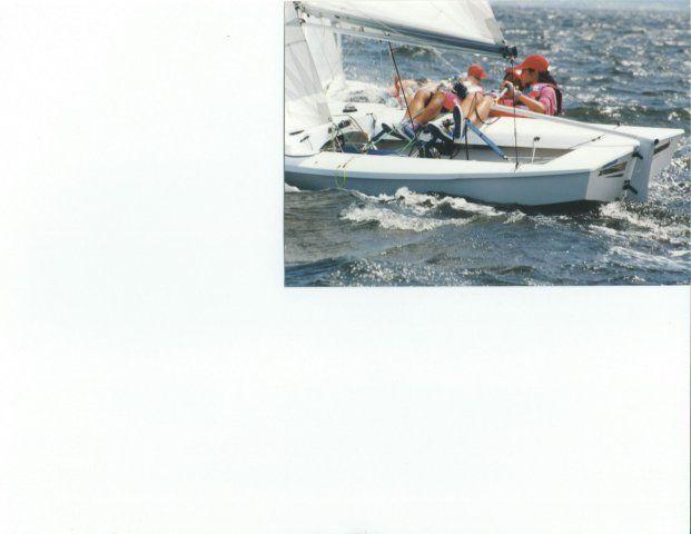 Snipe sailing