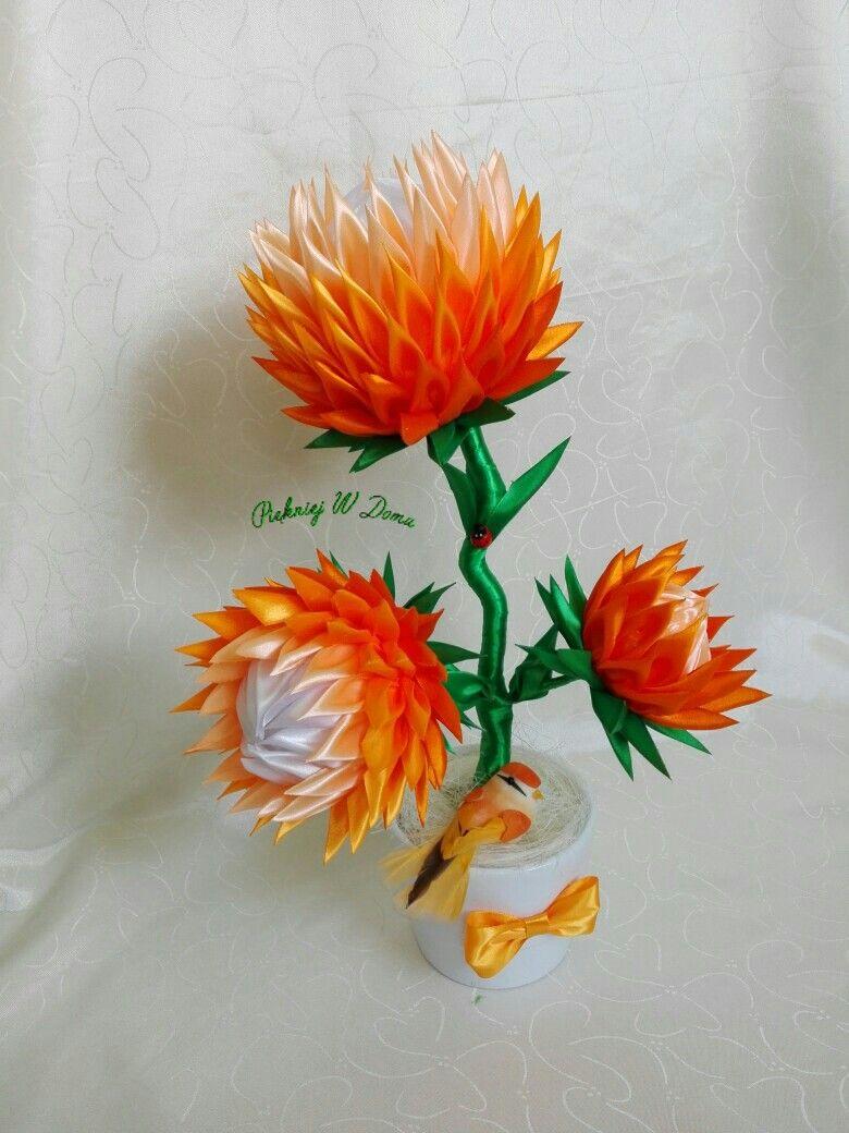 Wstazka Satynowa Kwiat Jewelry Necklace Lei Necklace