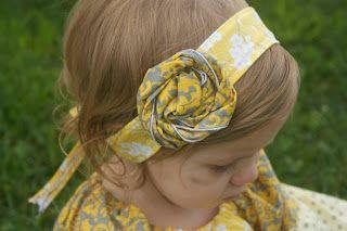 Wrap headband tutorial and pattern