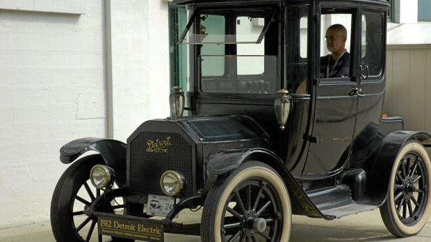 100 Year Old Electric Car Offers Trip Back In Time Add To