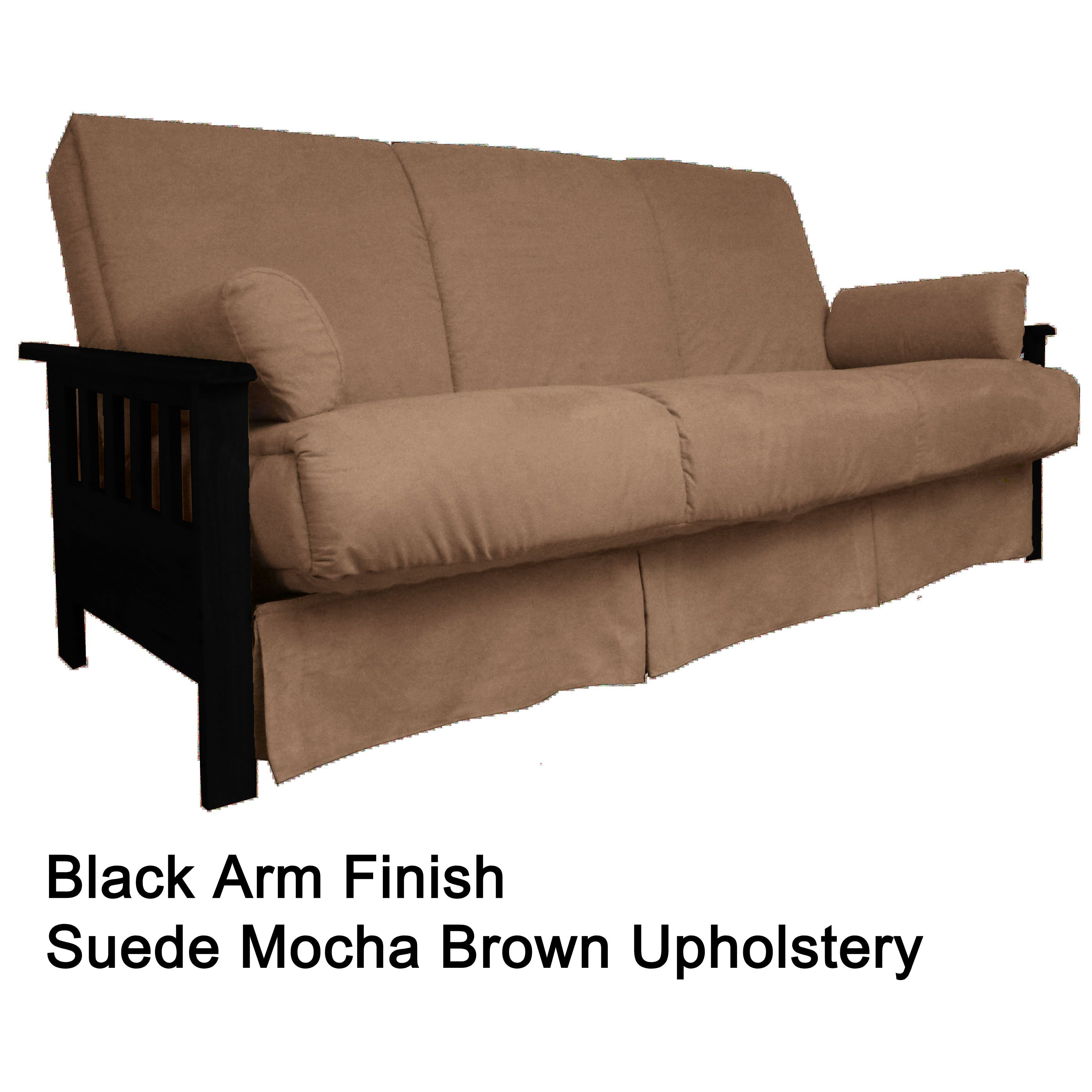 Epicfurnishings provo perfect sit sleep mission style pillow top full size sofa bed