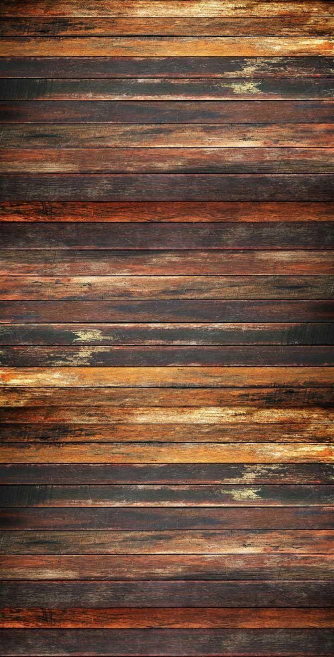 Studio Printed Background Brown Rustic Wood Floor Or Wall