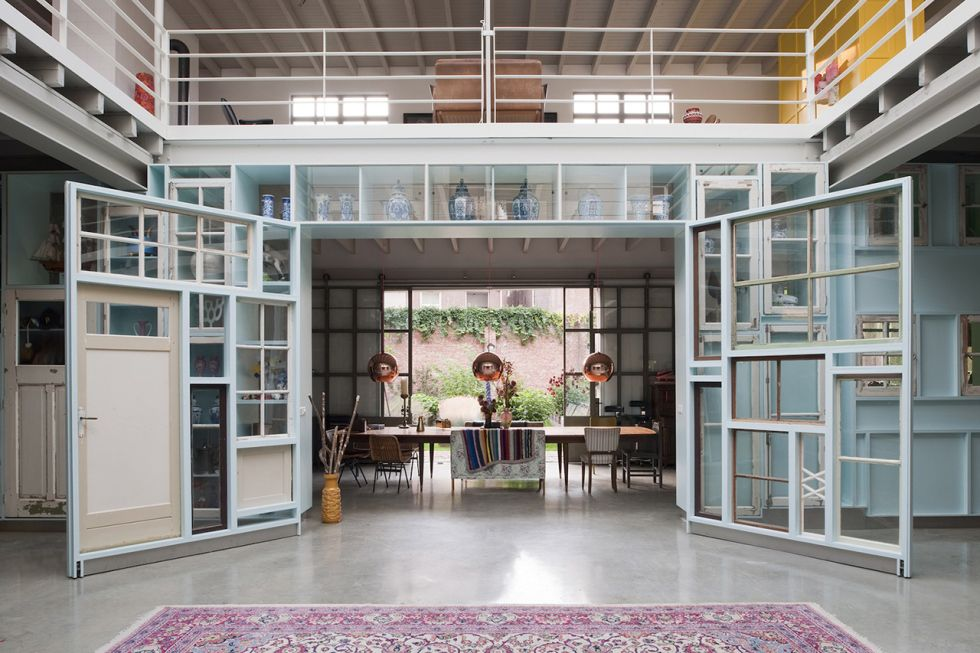 Hilberink Bosch Transform Old Garage Into New Space for Studio Boot