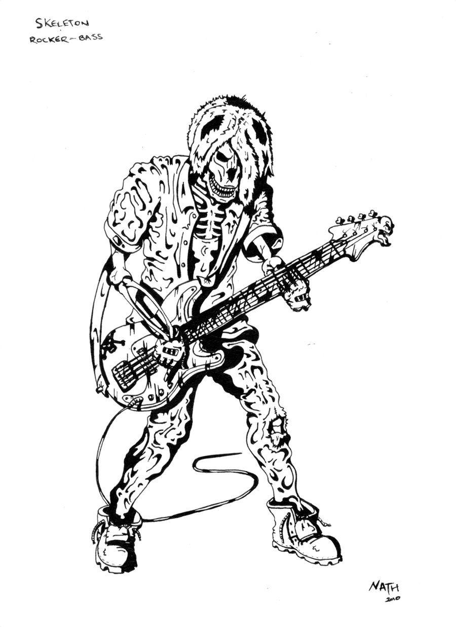 rocking skeleton | Skeleton Rock