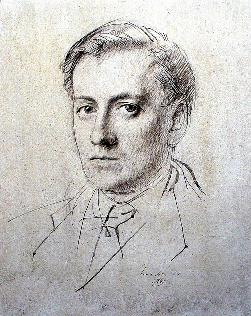 Sketch by Pietro Annigoni