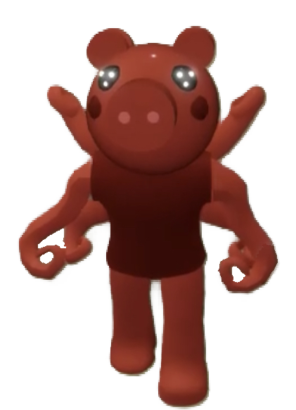 Parasee is a skin in Piggy. It is a dark red colored pig