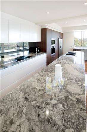 Residential Gallery Gallery Super White Granite White Quartzite Kitchen Home