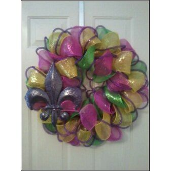 Fleur De Lis Wreath...