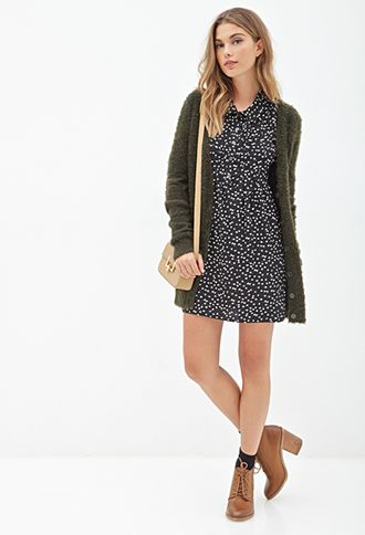 Ditsy Floral Shirtdress | FOREVER 21 - 2000098968