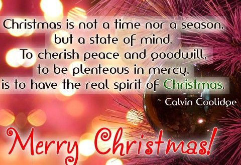 Christmas Quotes About Love Impressive Merrychristmasquotesforcards 480×329 Pixels  Christmas