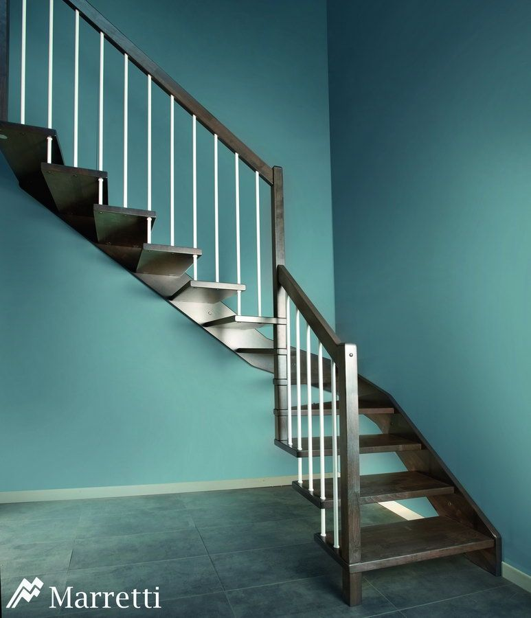 Escaleras de interior flo la nueva colecci n asequible de - Disenos de escaleras de madera para interiores ...