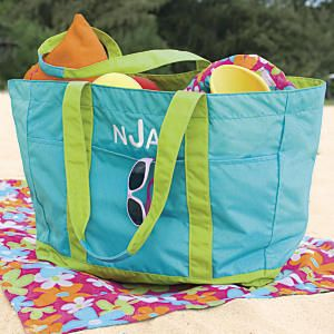 Family Beach Bag: Designed by OSA! Towels? Check. Beach toys ...