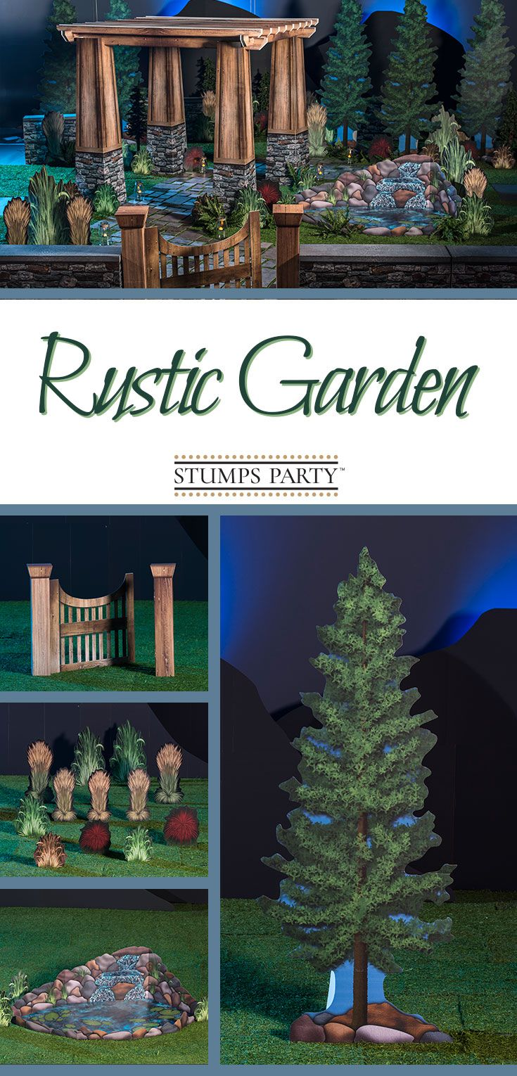 Bring Nature And Romance Inside With Our Rustic Garden Theme