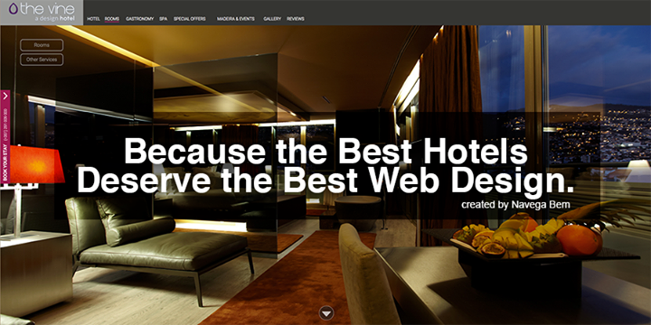 Because The Best Hotels Deserve The Best Web Design Created By