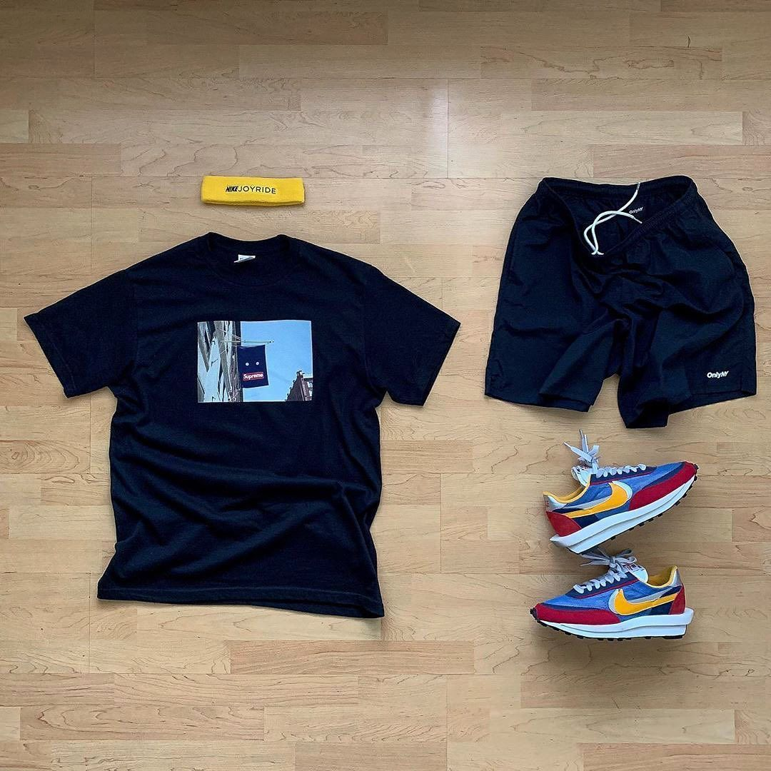 "@wdywt on Instagram: ""� or �: #WDYWTgrid by @raadius Shop our feed, hit link in bio. #mensfashion #ootd #outfit �: #Supreme �: #OnlyNY �: #Sacai #Nike #WDYWT for…"""