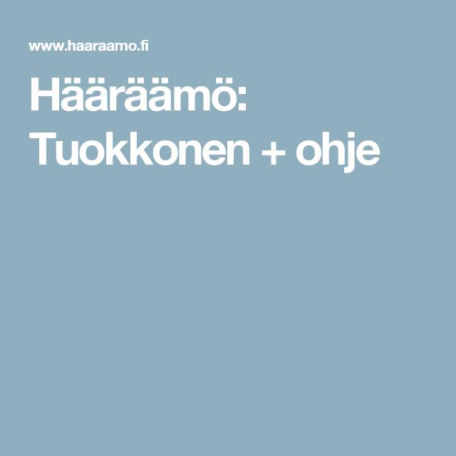 Hääräämö: Tuokkonen + ohje