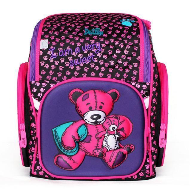 Waterproof Large Capacity Printed Kids School Bags Orthopedic School Backpack